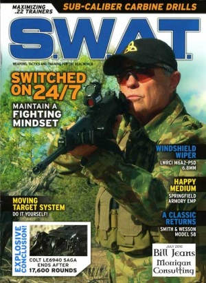 swat bill jeans magazine cover