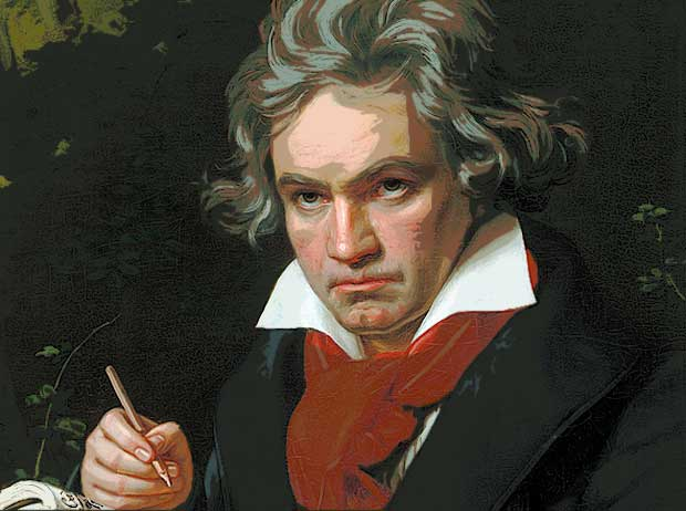 Ludwig Van Beethoven suffered OCD