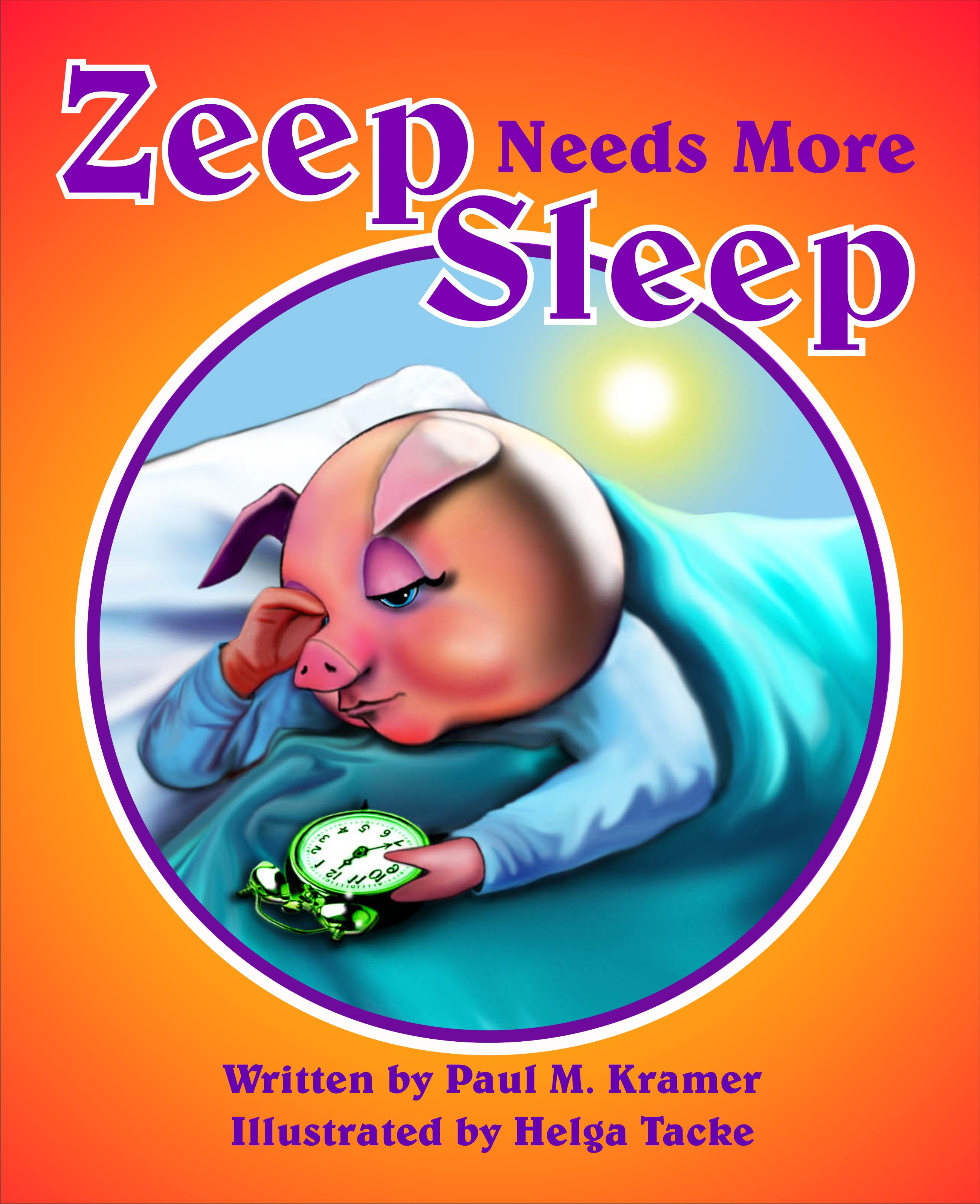 Zeep Needs More Sleep Cover